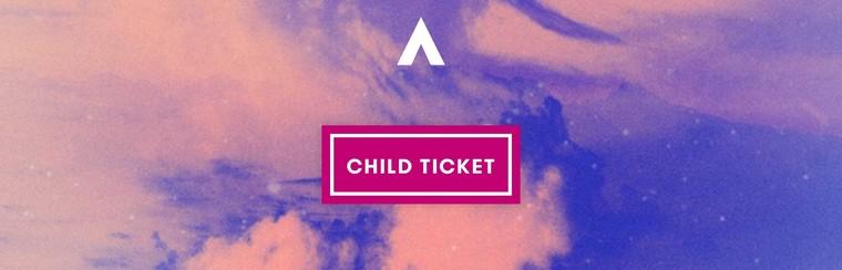 Ticket für Kinder | Unter 12 Jahre