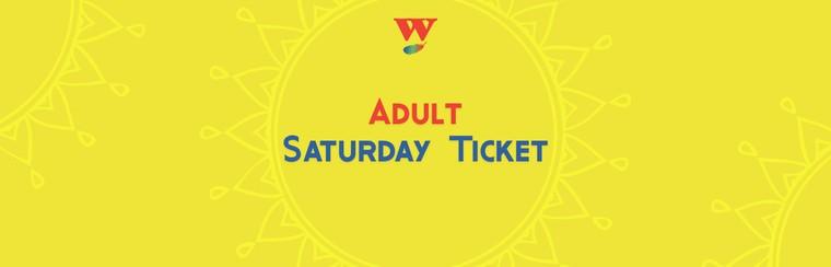 Tagesticket Samstag für Erwachsene