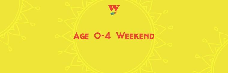 Age 0-4 Weekend Ticket