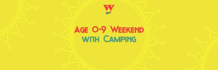 Age 0-9 Weekend Ticket with Camping