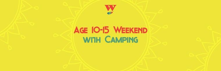 Age 10-15 Weekend Ticket with Camping