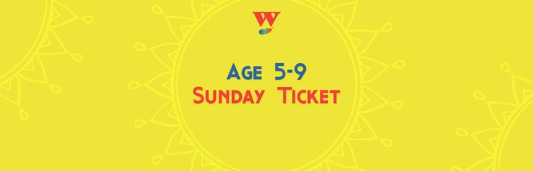 Tagesticket Sonntag - 5 - 9 Jahre