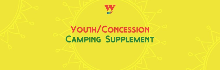 Youth/Concession Camping Supplement