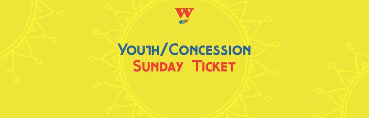 Youth/Concession Sunday Ticket
