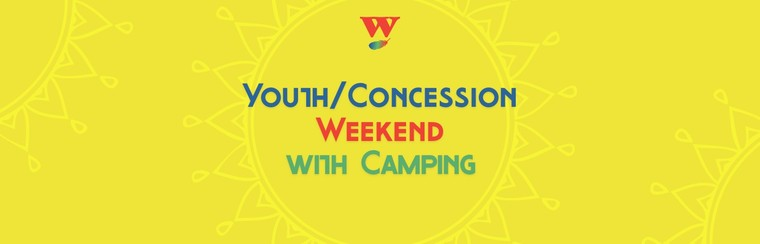 Youth/Concession Weekend Ticket with Camping