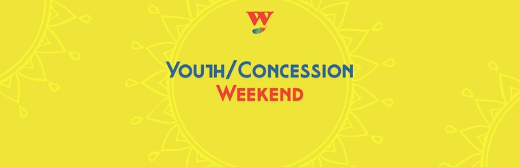 Youth/Concession Weekend Ticket