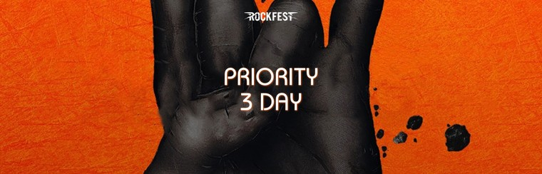Priority 3 Day Ticket