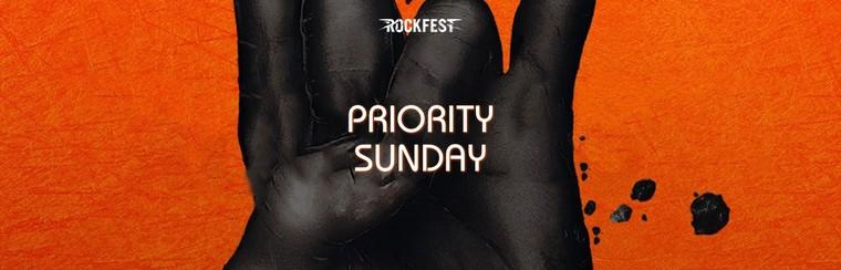 Priority Sunday Ticket