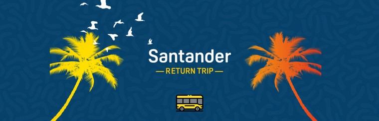 Official Buses - Santander Return Trip