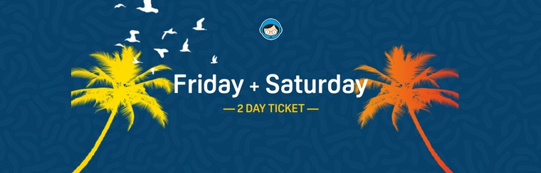 2 Day Ticket (Friday and Saturday)