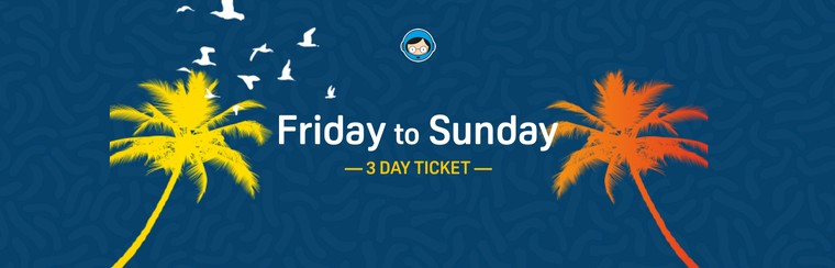 3 Day Ticket (Friday to Sunday)