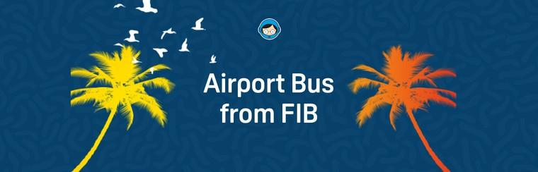 Transferts officiels en bus depuis le FIB