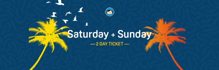 2 Day Ticket (Saturday and Sunday)