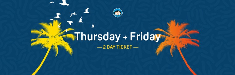 2 Day Ticket (Thursday and Friday)