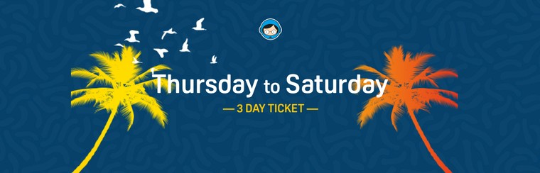3 Day Ticket (Thursday to Saturday)