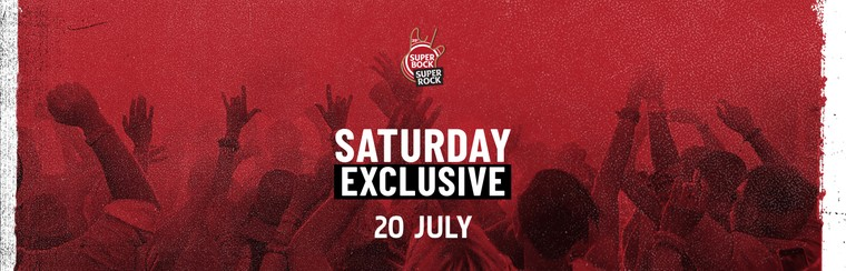 Exclusive Daily Ticket - Saturday 20 July