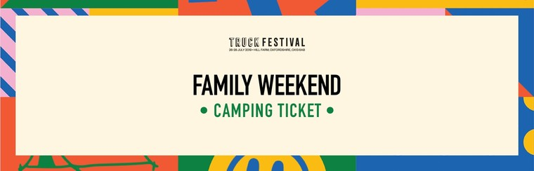 Family Weekend Camping Ticket