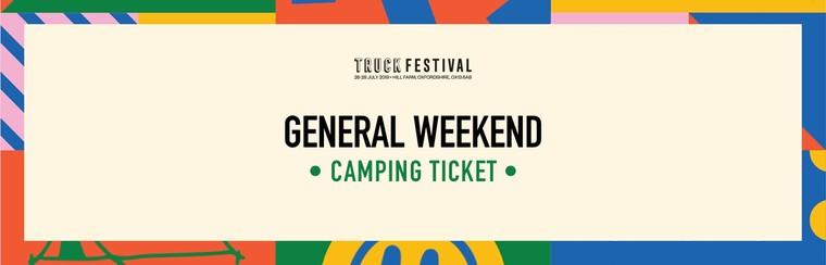 General Weekend Camping Ticket