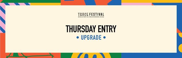 Thursday Entry Upgrade