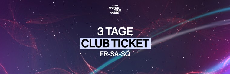 Club Ticket | 3 Days