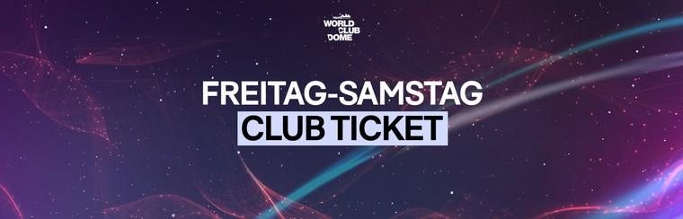 Billet Club | 2 Jours (Vendredi + Samedi)