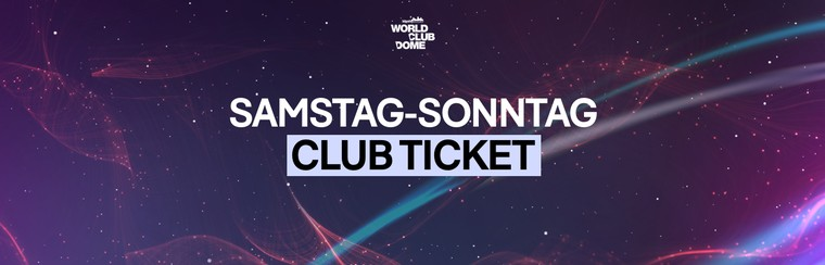 Club Ticket | 2 Days [SA & SU]