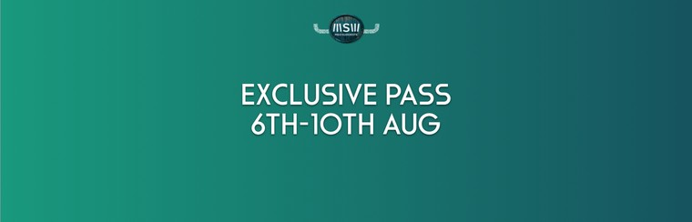 Exclusive-Pass (6. - 10. August)