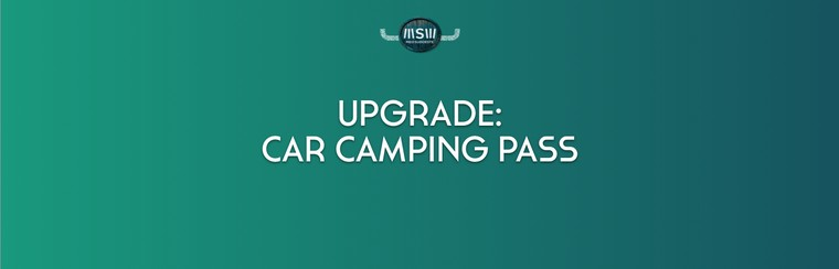 Upgrade: Car Camping Pass