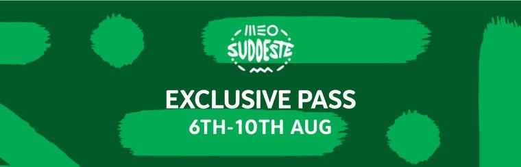 Pass exclusif (6 - 10 août)