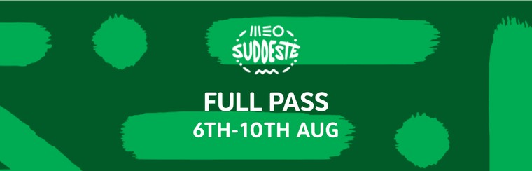 Full Pass (6th - 10th August)
