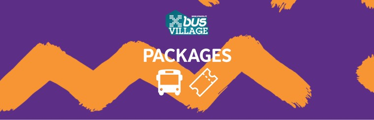 A/R + Pass Festival + Camping Xbus Village