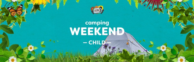 Child 6 to 10yrs Weekend Camping Ticket