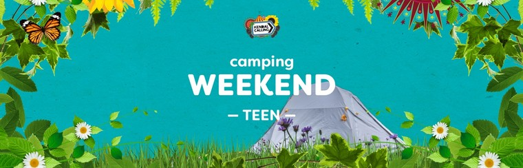 Teen 11 to 15yrs Weekend Camping Ticket