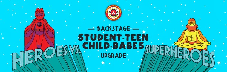 Student, Teen, Child & Babes Backstage Upgrade