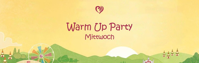 Warm Up Party - Mercredi