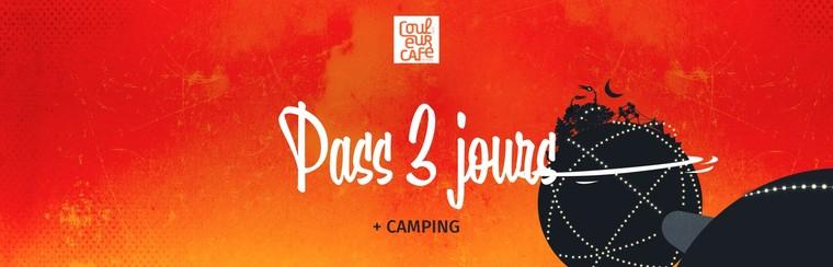 3 Days Pass + Camping