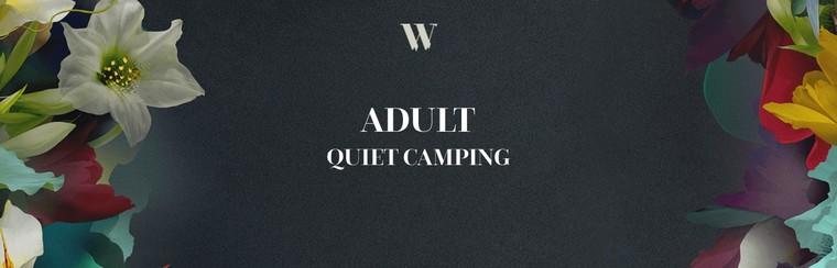 Ruhiges Camping für Erwachsene