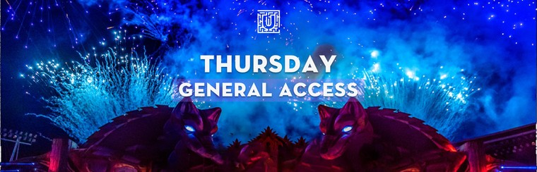 Thursday General Access Ticket