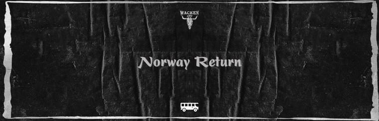 Hin- und Rückfahrt mit dem Bus aus Norwegen