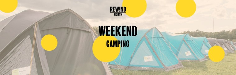 Child Weekend Ticket with Camping