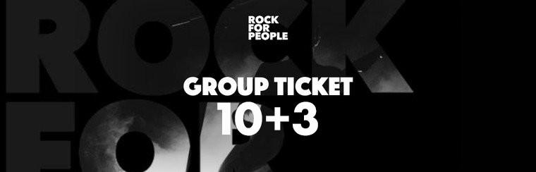 Gruppenticket 10+3