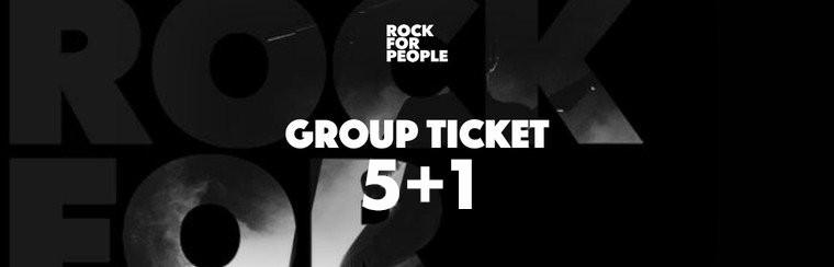Gruppenticket 5+1
