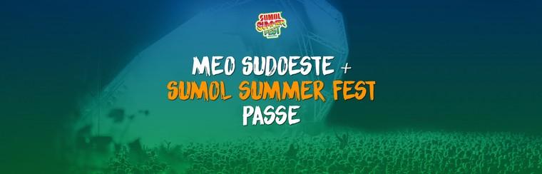 MEO Sudoeste + Sumol Summer Fest Pass