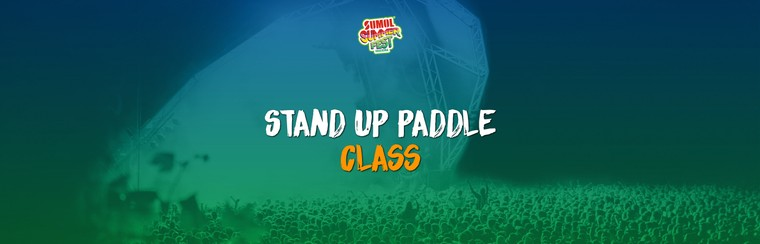 Aula de Stand Up Paddle