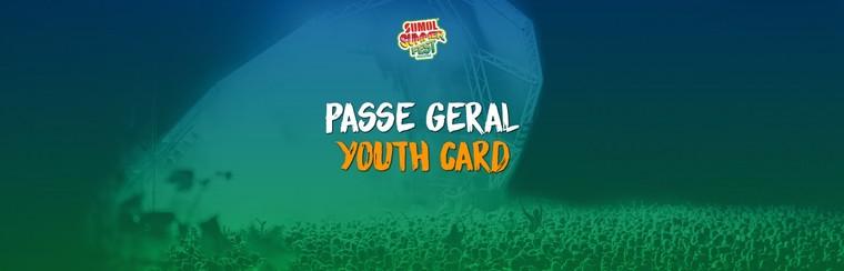 Passe Geral com Campismo - Cartão Jovem