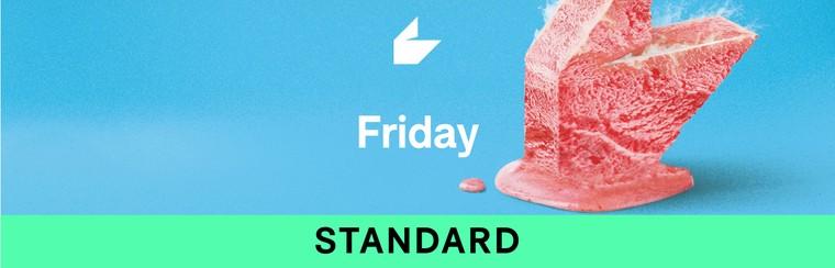 Billet standard - Vendredi