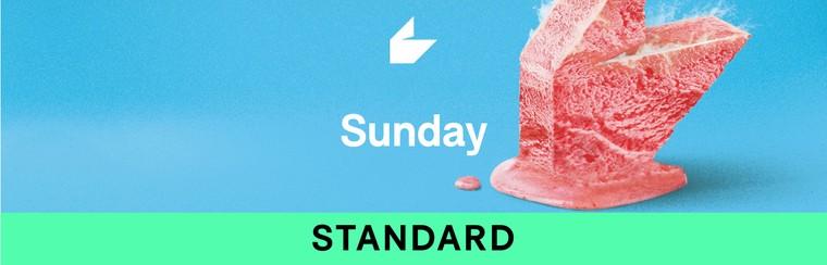 Billet standard - Dimanche