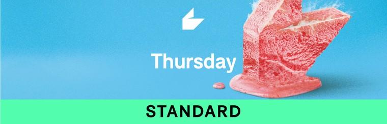 Billet standard - Jeudi