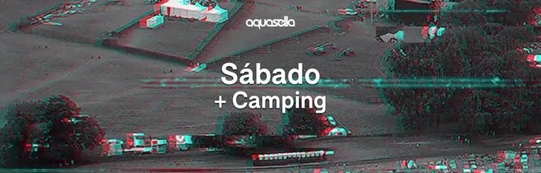 Bilhete para Sábado + Campismo