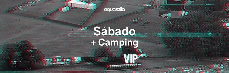 VIP Saturday Ticket + Camping